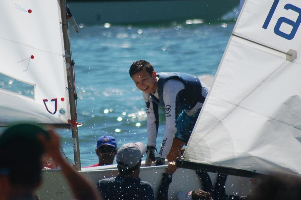 Tiago Monteiro - Campeão brasileiro de optimist 2016