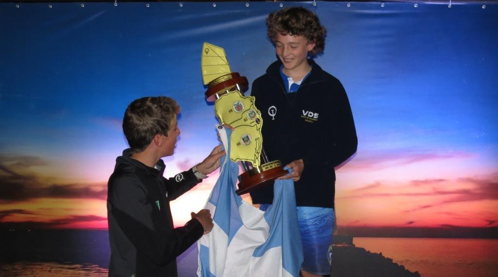 Campeão Sul Brasileiro de Optimist - Lucas Stolf