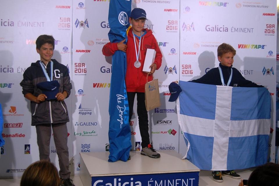 Categoria principiantes: 1º Carlos Tomás Gabasio (ARG CVR), 2º Gustavo Arjona Glimm (BRA VDS) e 3º Juan Martin Casal (ECU SYC).