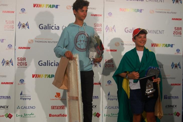 Categoria veterano: 1º Lucas Videla (ARG YCO) e 2º Tiago Monteiro (BRA CIC)