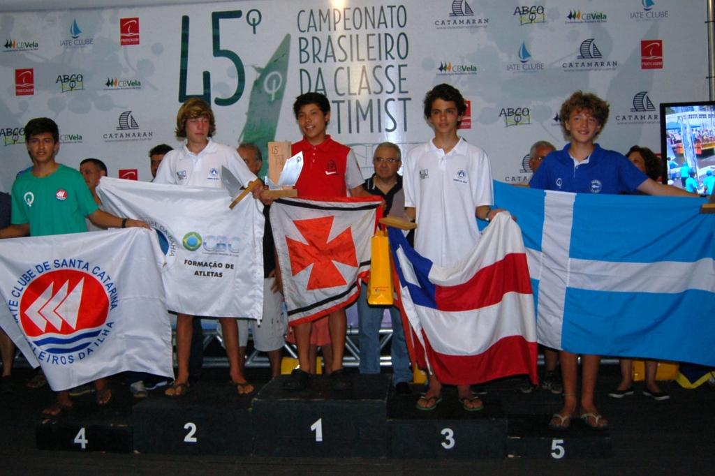 Premiação categoria juvenil masculino