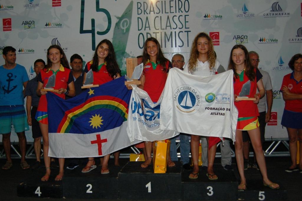 Premiação categoria juvenil feminino