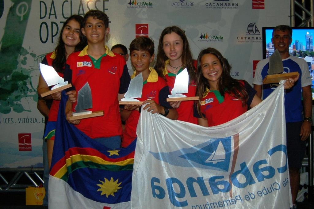 Premiação campeonato de equipes - Equipe Pernambuco 1