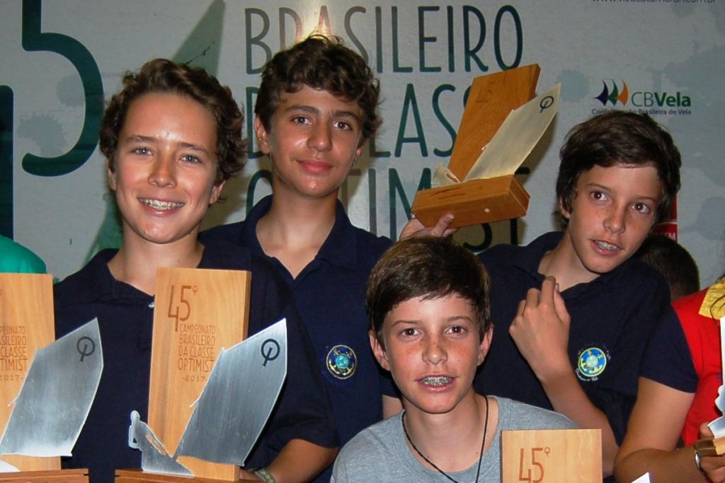 Premiação campeonato de equipes - Equipe Rio de Janeiro 1