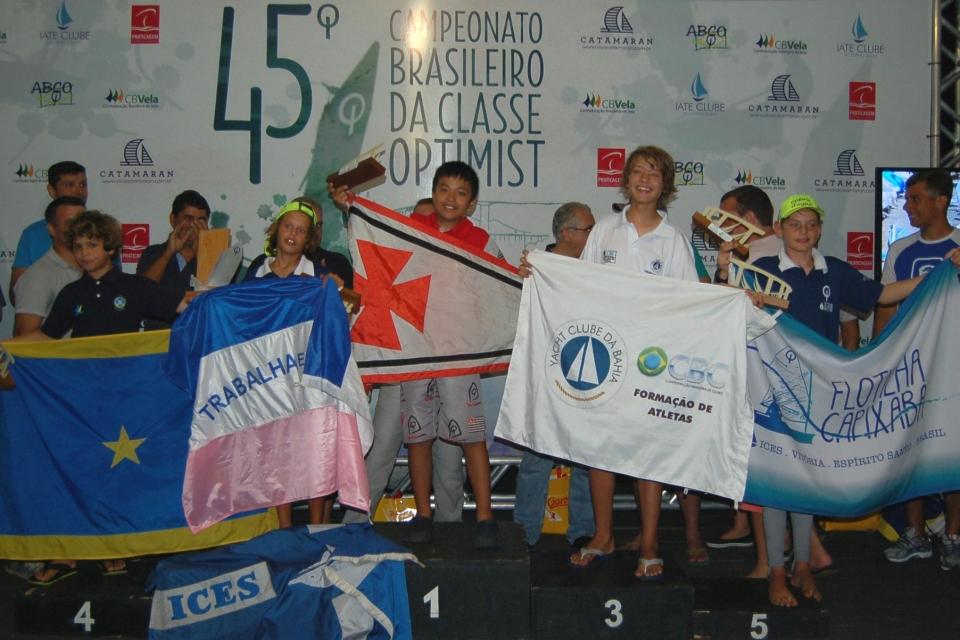 Premiação flotilha prata